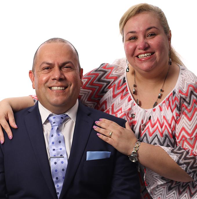 Ministros Liannett y Carlos